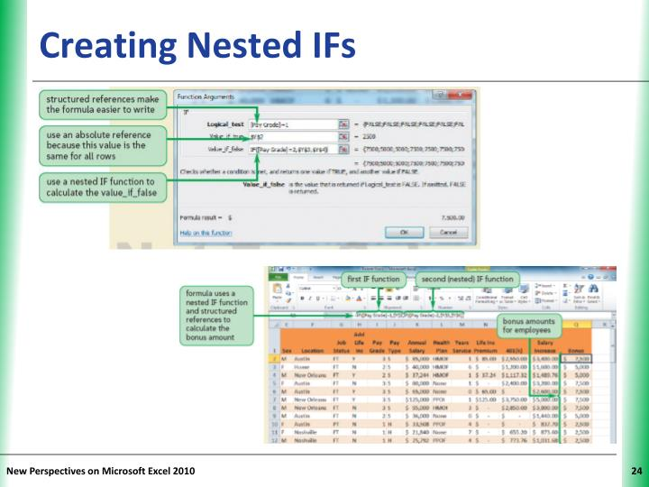 Creating Nested IFs