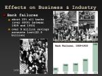 effects on business industry1