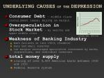 underlying causes of the depression1