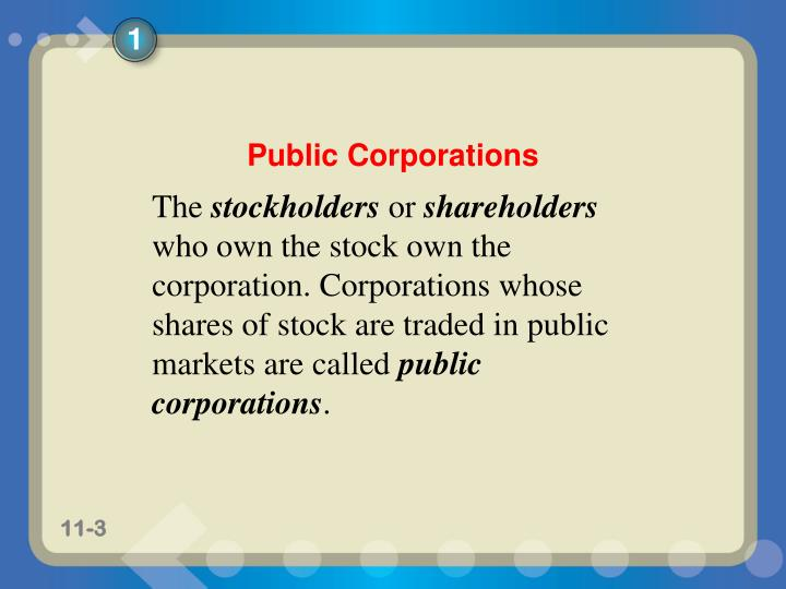 Corporations organization stock transactions and dividends