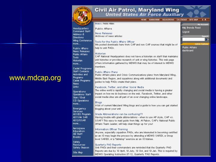 www.mdcap.org