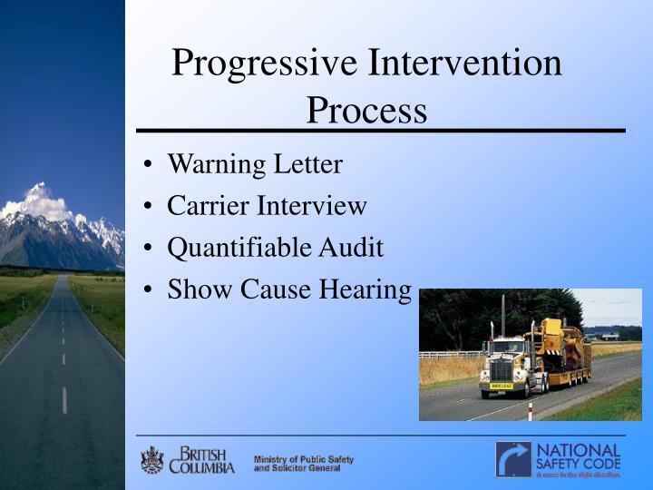 Progressive Intervention Process
