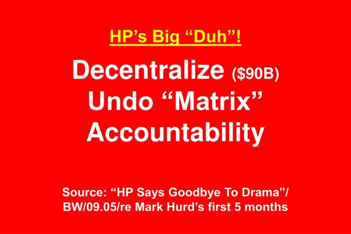 """HP's Big """"Duh""""!"""
