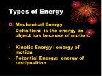types of energy2
