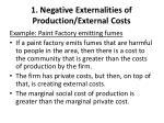 1 negative externalities of production external costs1