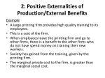 2 positive externalities of production external benefits1