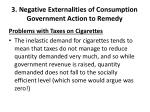 3 negative externalities of consumption government action to remedy3