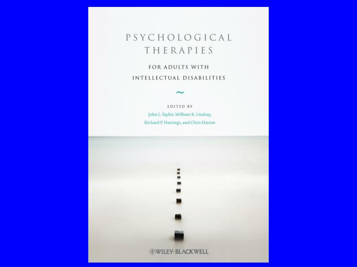 John l taylor professor of clinical psychology consultant clinical psychologist