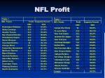 nfl profit