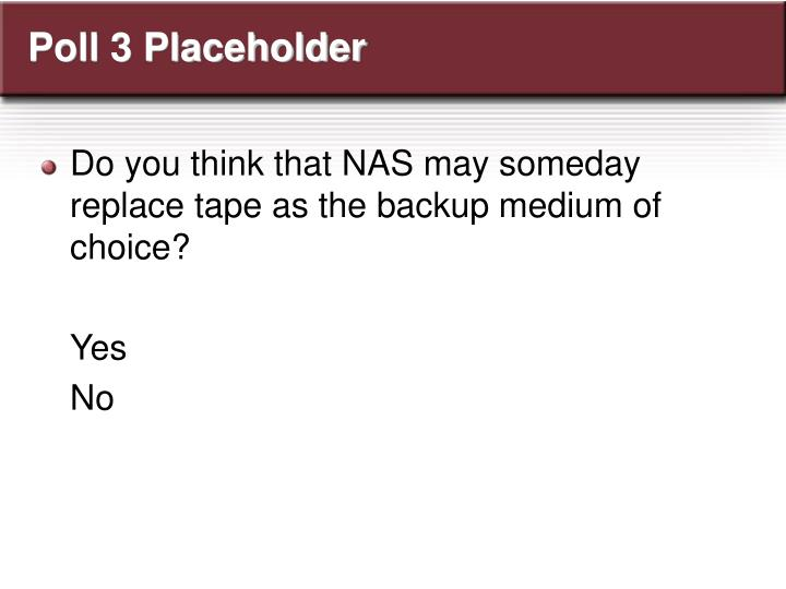 Poll 3 Placeholder