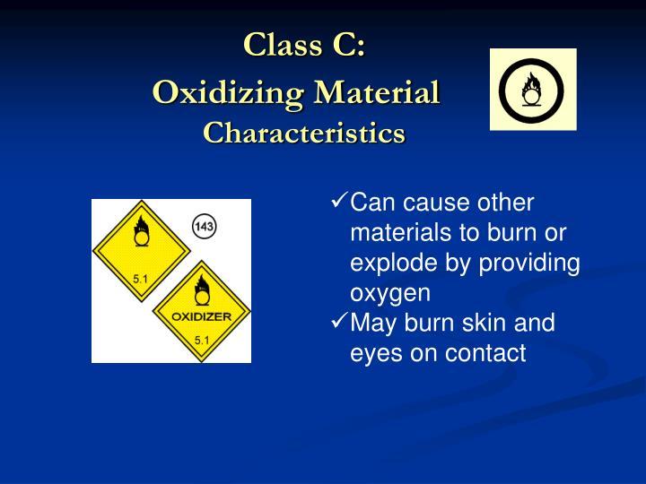 Class C: