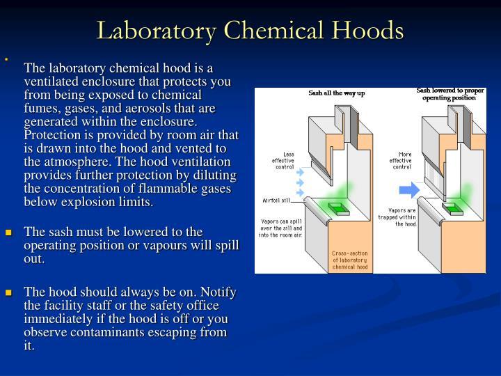 Laboratory Chemical Hoods
