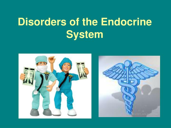 disorders of the endocrine system n.