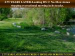 2 75 years later looking ds @ no mow stones stopping recreational mowing in its tracks