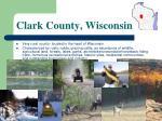 clark county wisconsin