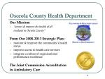 osceola county health department