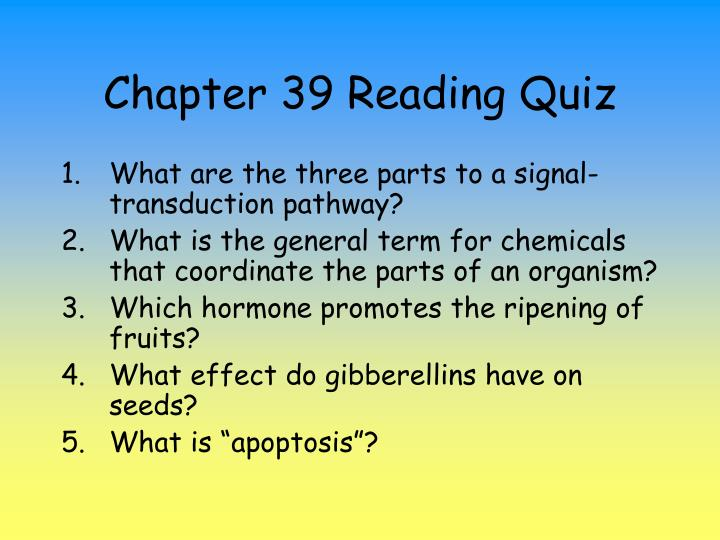 chapter 39 reading quiz n.