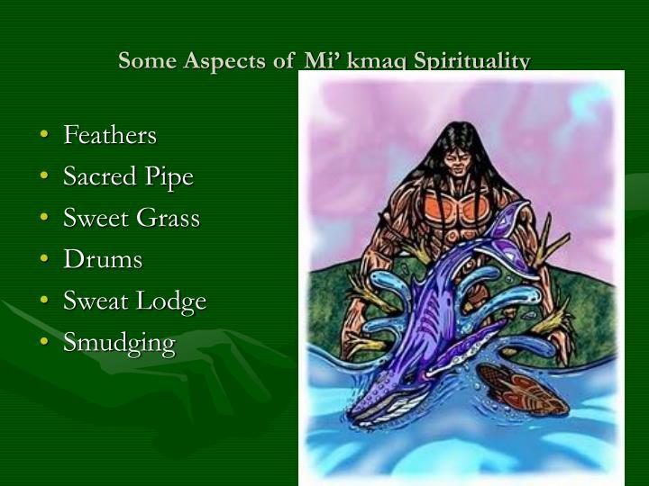 Some aspects of mi kmaq spirituality
