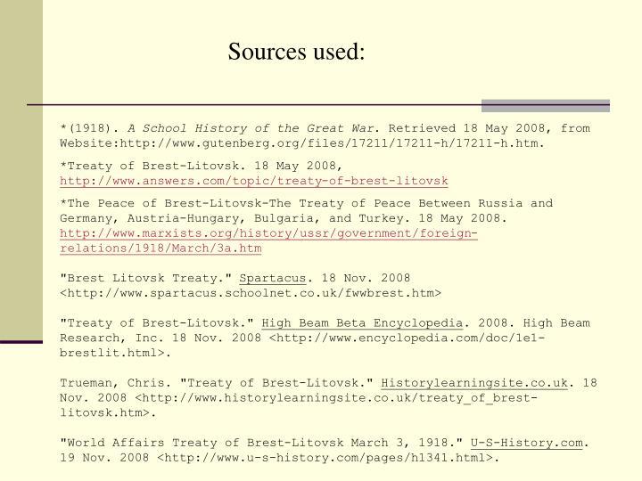 PPT - Treaty of Brest Litovsk PowerPoint Presentation - ID:6670437