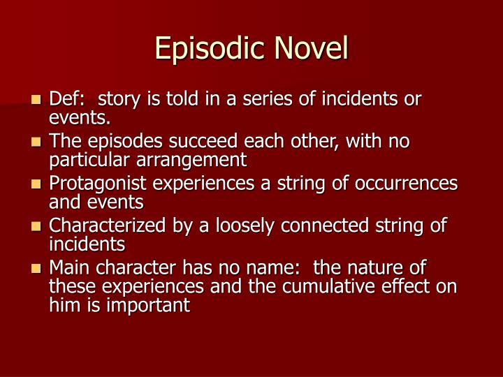 Episodic novel