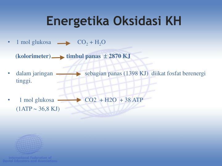 Energetika Oksidasi KH