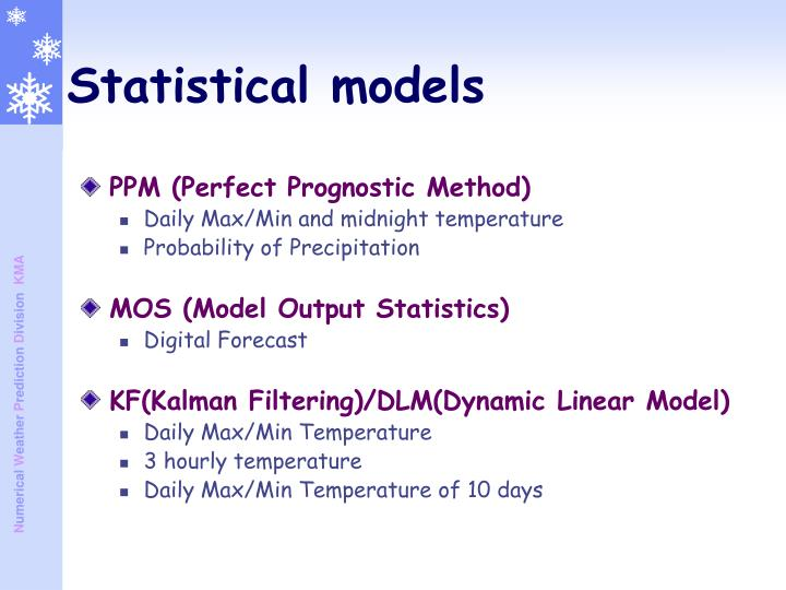 PPM (Perfect Prognostic Method)