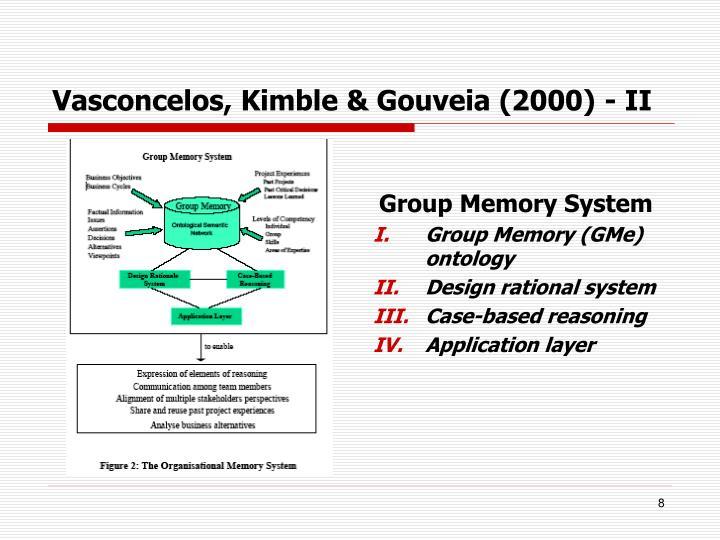 Vasconcelos, Kimble & Gouveia (2000) - II