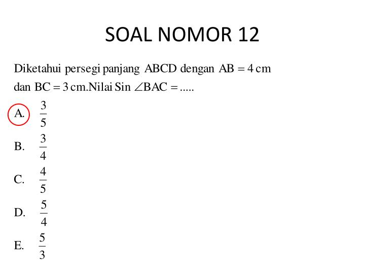 SOAL NOMOR 12