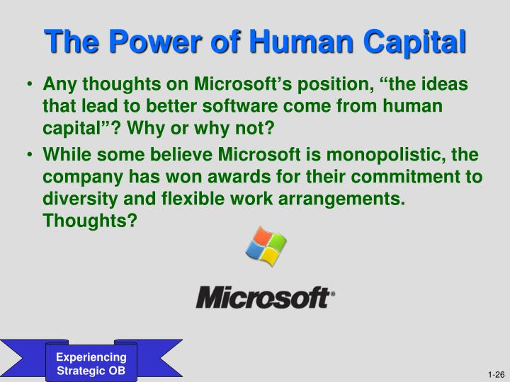 The Power of Human Capital