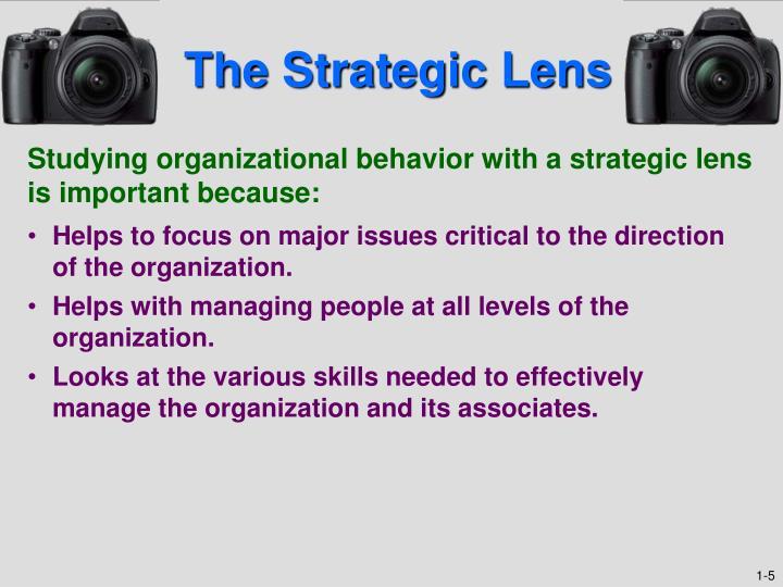The Strategic Lens