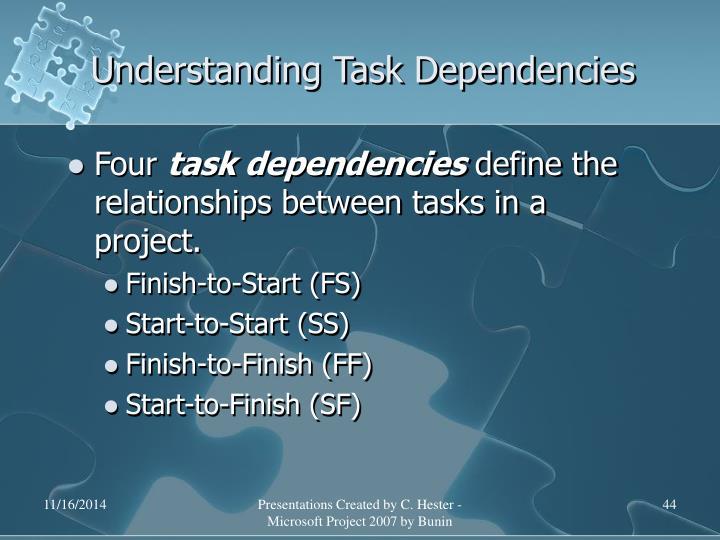 Understanding Task Dependencies