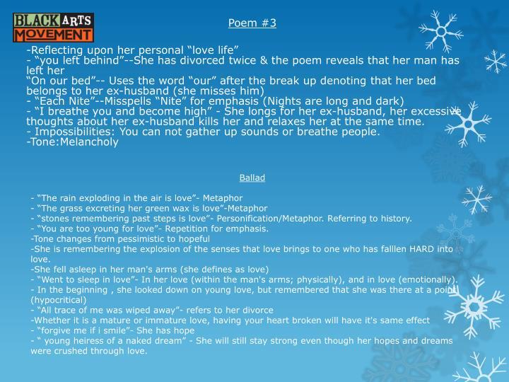 Poem #3