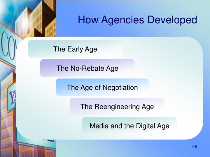 How Agencies Developed
