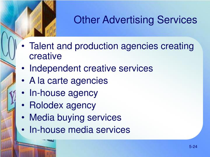 Other Advertising Services