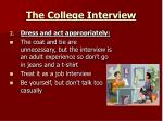 the college interview1