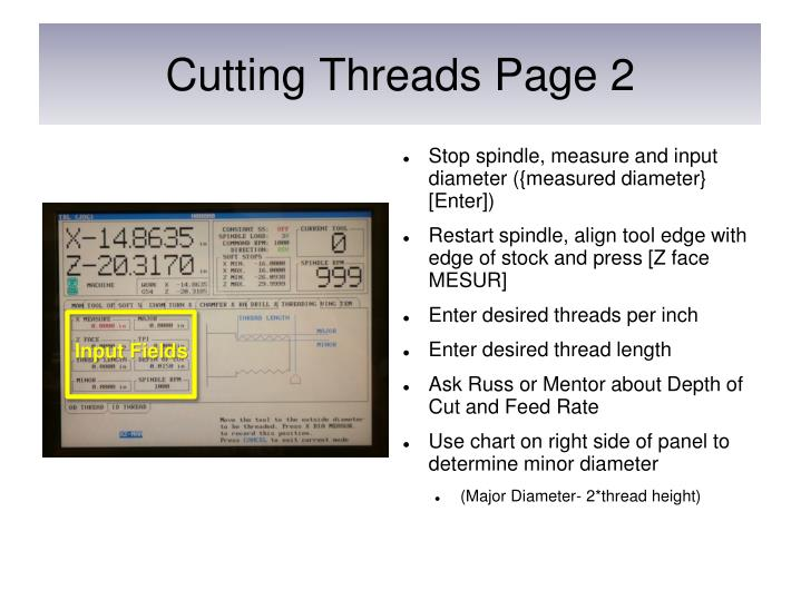 Cutting Threads Page 2