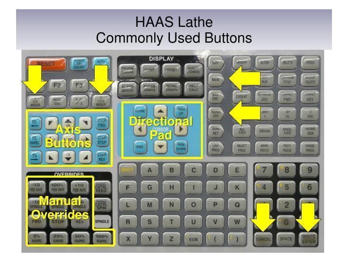 Haas cnc lathe tutorial