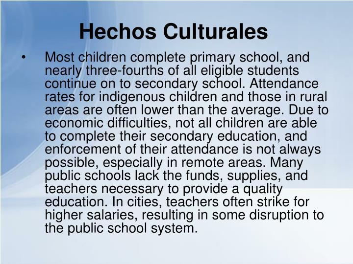 Hechos Culturales