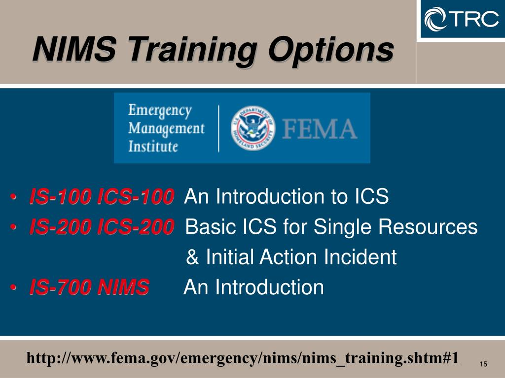 PPT - DHS – NIMS – ICS ? PowerPoint Presentation - ID:6672155