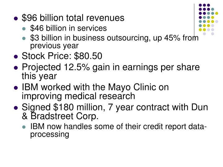 $96 billion total revenues