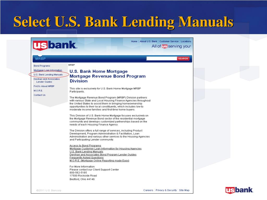 PPT - U S  Bank Home Mortgage PowerPoint Presentation - ID