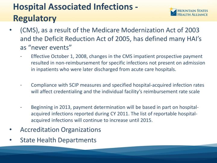 primary prevention of hospital acquired infections