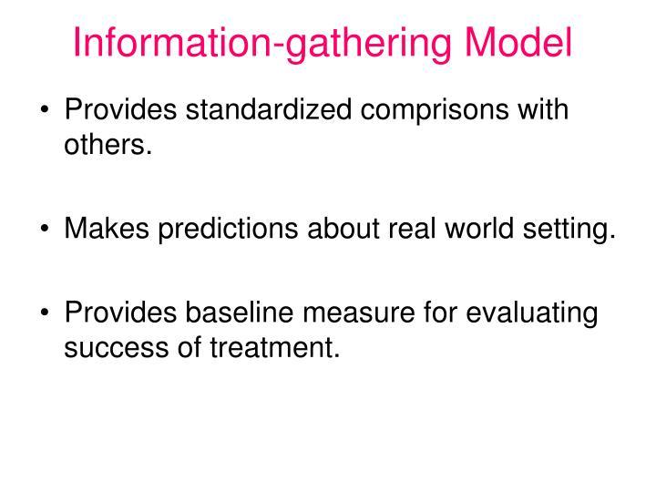 Information-gathering Model