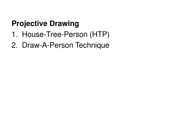 Projective Drawing