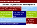 hearing protection selection10
