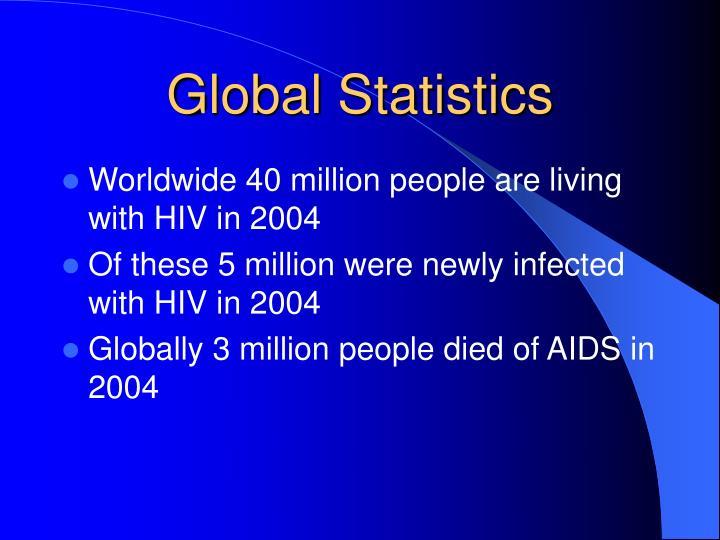 Global statistics