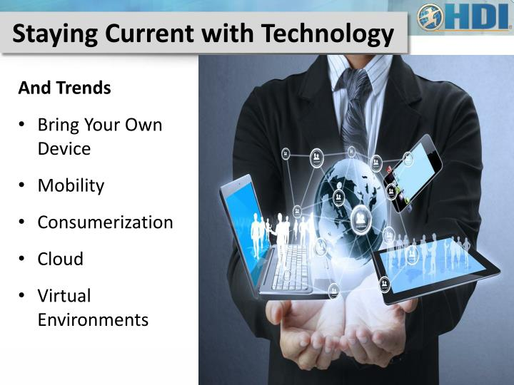 Staying Current with Technology