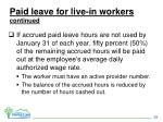paid leave for live in workers continued1