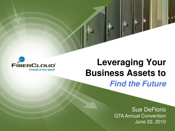 leveraging your business assets to find the future n.