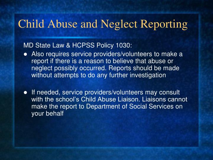 a study of the needs of abused and neglected children Child abuse and neglect is an issue that must be studied to see the significant effects it has on its victims child abuse and neglect to juvenile crime tesst college of technology juvenile people need to take into consideration how they were raised and what was taught to them their whole.